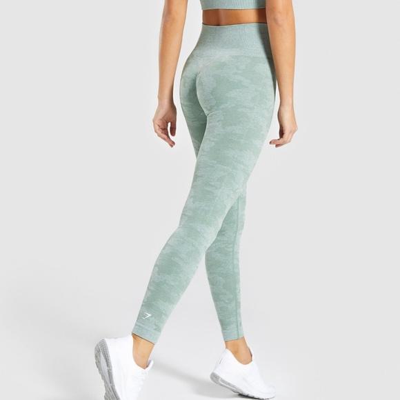 best cheap fashionablestyle dirt cheap Gymshark Camo Seamless Legging NWT